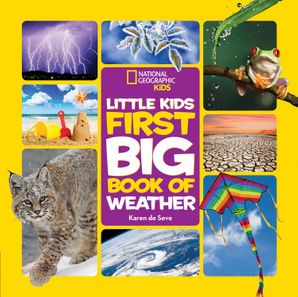 Little Kids First Big Book of Weather (First Big Book) Hardcover  by Karen de Seve