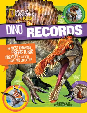 Dino Records : The Most Amazing Prehistoric Creatures Ever to Have Lived on Earth! (Dinosaurs) Paperback  by No Author