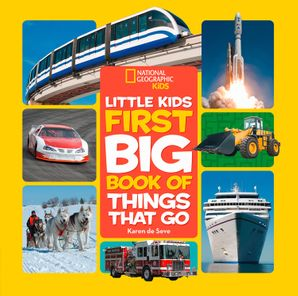Little Kids First Big Book of Things That Go (First Big Book) Hardcover  by