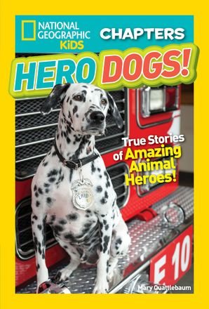 National Geographic Kids Chapters: Hero Dogs (National Geographic Kids Chapters ) Paperback  by Mary Quattlebaum