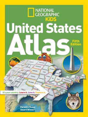 National Geographic Kids United States Atlas (Atlas ) Paperback  by No Author