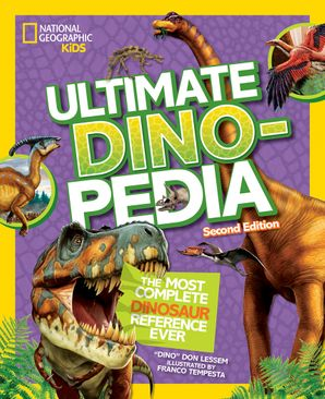 Ultimate Dinosaur Dinopedia, 2nd Edition (Dinopedia) Hardcover  by Don Lessem