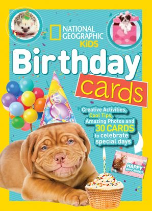 National Geographic Kids Birthday Cards (Activity Books)