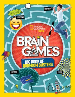 Brain Games (Activity Books) Paperback  by Stephanie Warren Drimmer