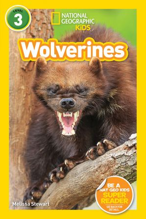 National Geographic Kids Readers: Wolverines (L3) (Readers) Paperback  by Melissa Stewart