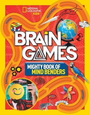 Brain Games 2: Mighty Book of Mind Benders Paperback  by No Author