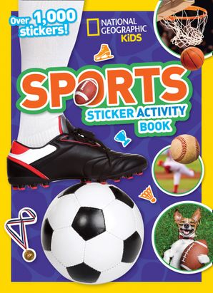 Sports Sticker Activity Book: Over 1,000 stickers! Paperback  by No Author