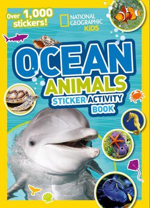 Ocean Animals Sticker Activity Book: Over 1,000 stickers! Paperback  by Ariane Szu-Tu