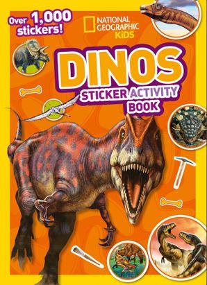 Dinos Sticker Activity Book: Over 1,000 stickers!