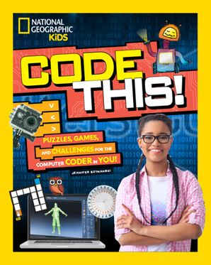 Code This!: Puzzles, Games, and Challenges for the Creative Coder in You Paperback  by Jennifer Szymanski