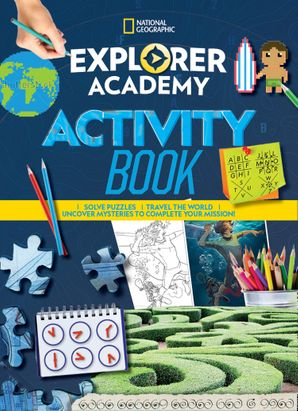 Explorer Academy Sticker Book Paperback  by No Author