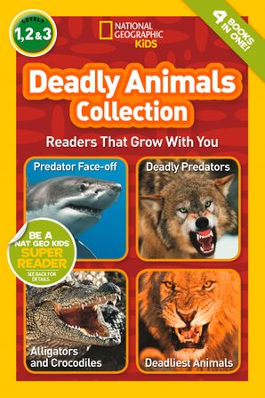 Deadly Animals Collection (National Geographic Readers) Paperback  by Melissa Stewart