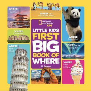 National Geographic Little Kids First Big Book of Where Hardcover  by No Author