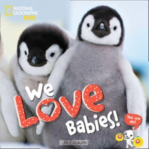 We Love Babies! Hardcover  by