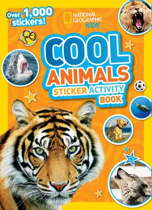 Cool Animals Sticker Activity Book: Over 1,000 stickers! Paperback  by No Author