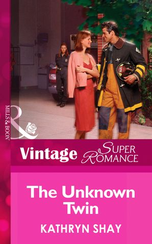 The Unknown Twin (Mills & Boon Vintage Superromance) (Code Red, Book 3)