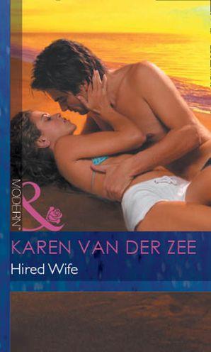 Hired Wife (Mills & Boon Modern) eBook First edition by Karen Van der Zee
