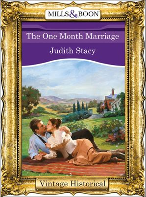the-one-month-marriage-mills-and-boon-historical