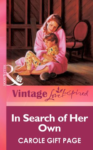 In Search Of Her Own (Mills & Boon Vintage Love Inspired)
