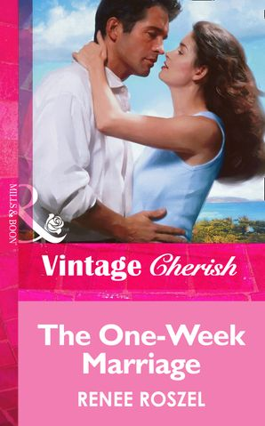 the-one-week-marriage-mills-and-boon-vintage-cherish