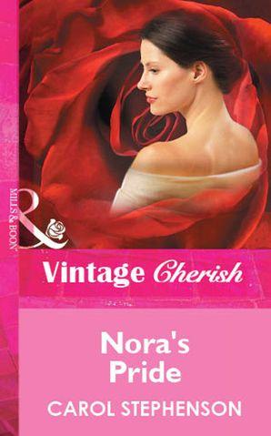 Nora's Pride (Mills & Boon Vintage Cherish)