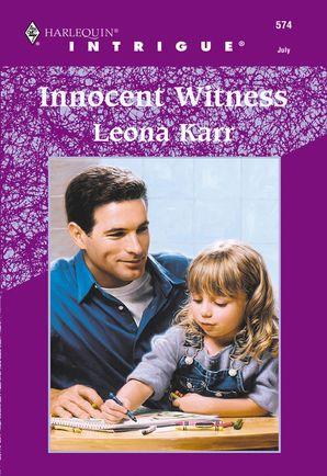 Innocent Witness (Mills & Boon Intrigue)