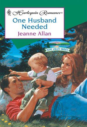One Husband Needed (Mills & Boon Cherish)