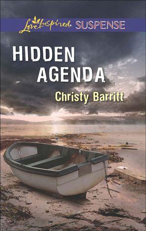 Hidden Agenda (Mills & Boon Love Inspired Suspense) eBook First edition by Christy Barritt