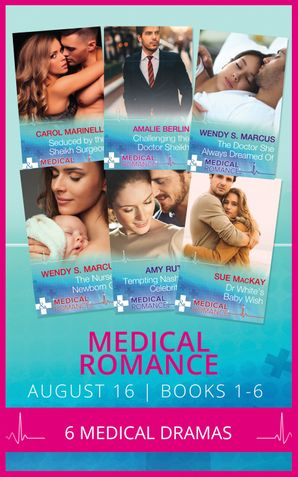 Medical Romance August 2016 Books 1-6 (Mills & Boon e-Book Collections) eBook  by