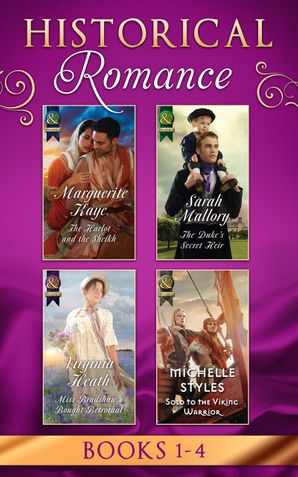 Historical Romance Books 1 - 4 eBook  by Marguerite Kaye