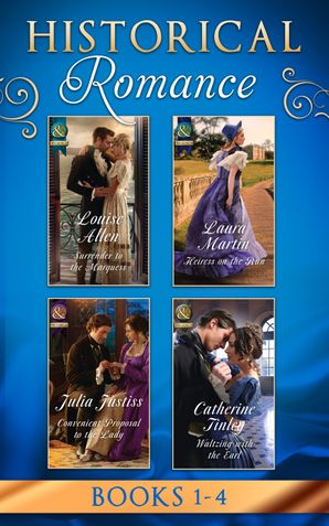 Historical Romance March 2017 Book 1-4 eBook  by