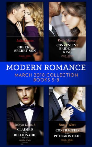 Modern Romance Collection: March 2018 Books 5 - 8 (Mills & Boon e-Book Collections) eBook  by Julia James