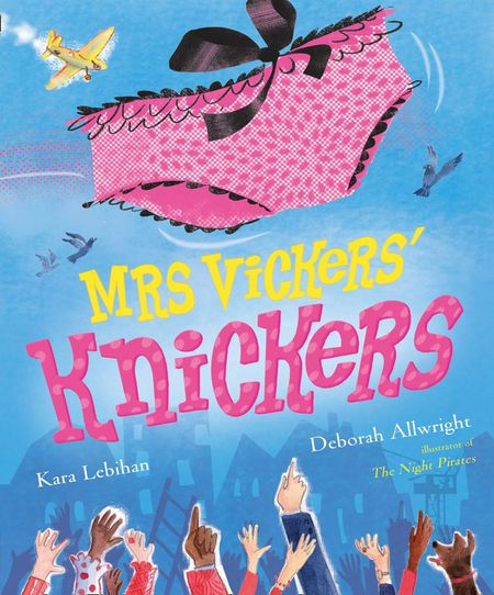 Mrs Vickers Knickers - Kara Lebihan, Illustrated by Deborah Allwright