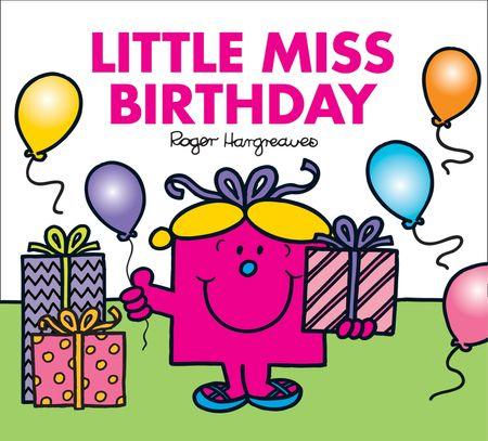 Little Miss Birthday - Adam Hargreaves