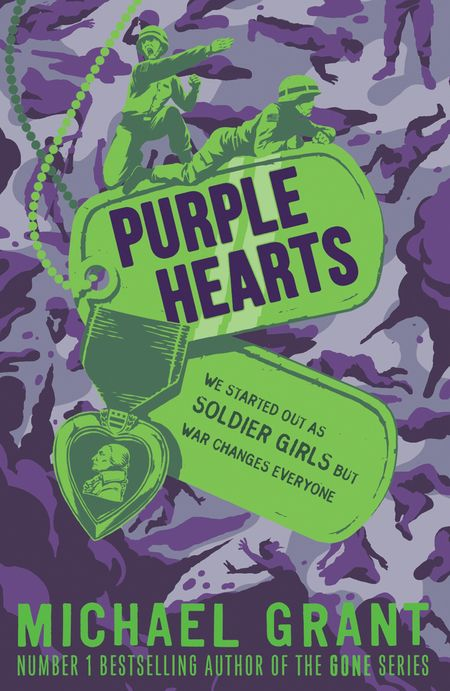 Purple Hearts (The Front Lines series) - Michael Grant