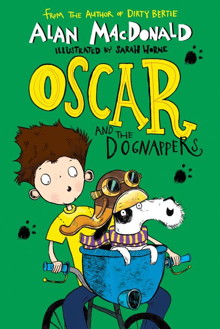 Oscar and the Dognappers - Alan MacDonald, Illustrated by Sarah Horne