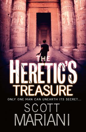 The Heretic's Treasure Paperback  by Scott Mariani