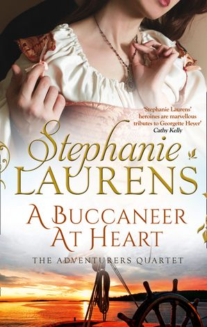 A Buccaneer At Heart Paperback  by Stephanie Laurens