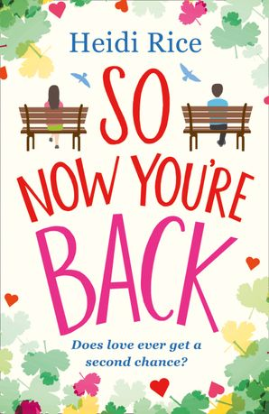 So Now You're Back Paperback  by