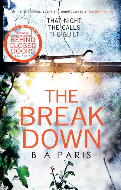 The Breakdown: The gripping thriller from the bestselling author of Behind Closed Doors - B A Paris