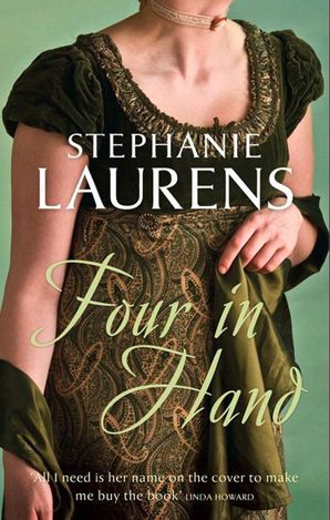 Four In Hand Paperback  by Stephanie Laurens