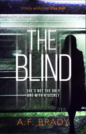 The Blind Paperback  by AF Brady