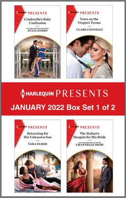 Harlequin Presents January 2022 - Box Set 1 of 2