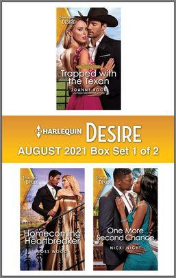 Harlequin Desire August 2021 - Box Set 1 of 2