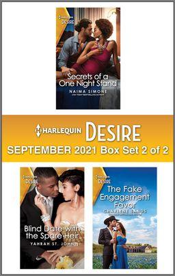 Harlequin Desire September 2021 - Box Set 2 of 2