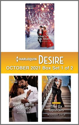 Harlequin Desire October 2021 - Box Set 1 of 2
