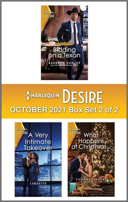 Harlequin Desire October 2021 - Box Set 2 of 2