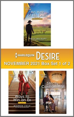 Harlequin Desire November 2021 - Box Set 1 of 2