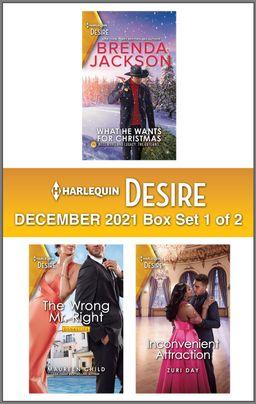 Harlequin Desire December 2021 - Box Set 1 of 2