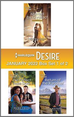 Harlequin Desire January 2022 - Box Set 1 of 2